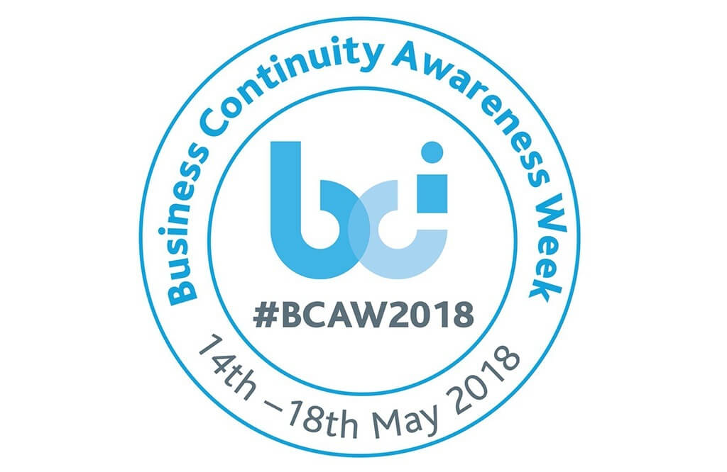 Business Continuity Awareness Week 2018