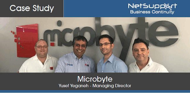 Microbyte reviews NetSupport Business Continuity