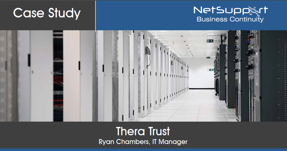Thera Trust reviews NetSupport Business Continuity