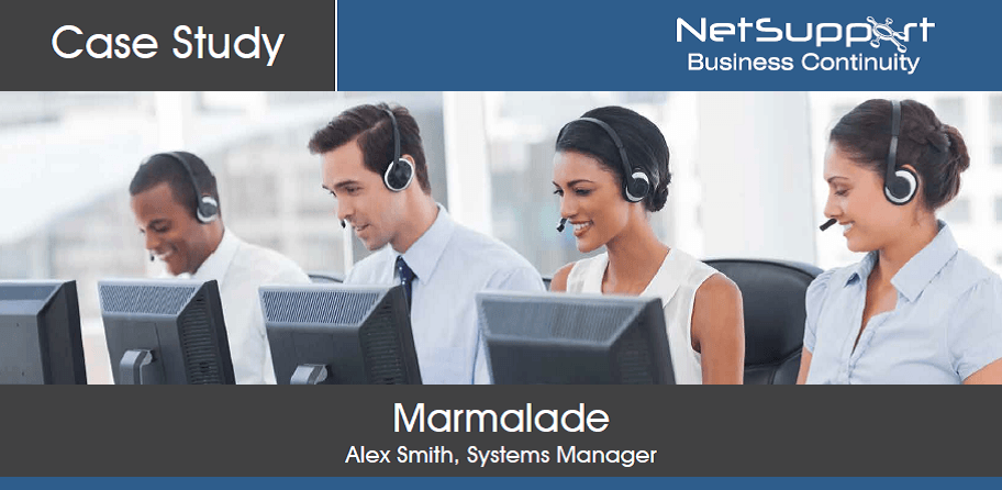 Marmalade reviews NetSupport Business Continuity