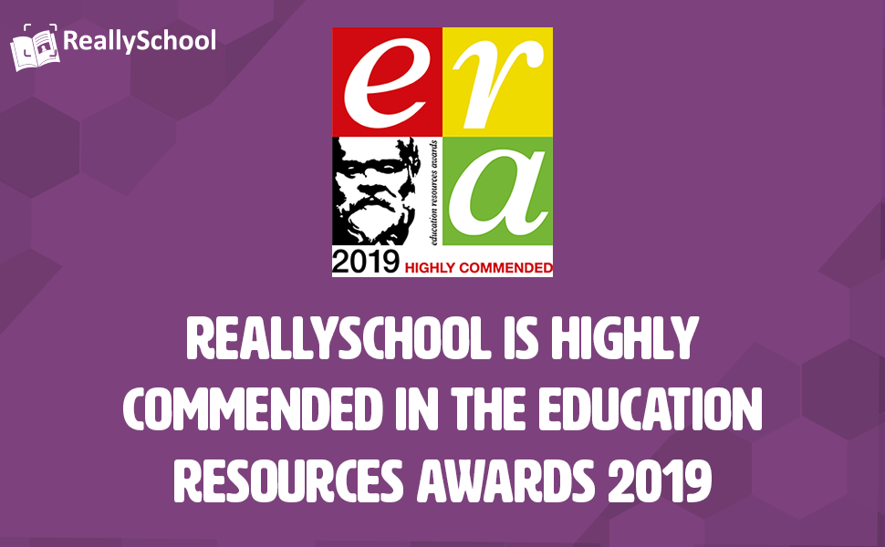 ReallySchool is Highly Commended at the ERAs 2019!